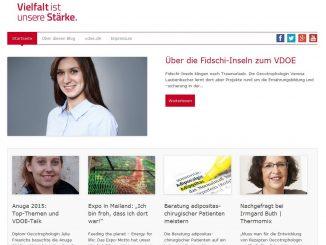 Screenshot Blog VDOE