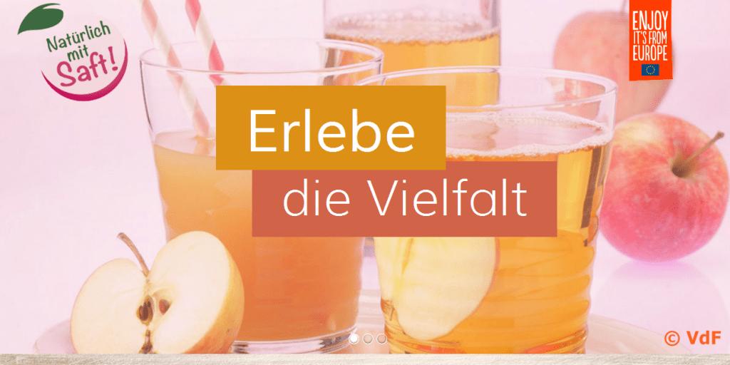 Slider Website natuerlich-mit-saft.eu