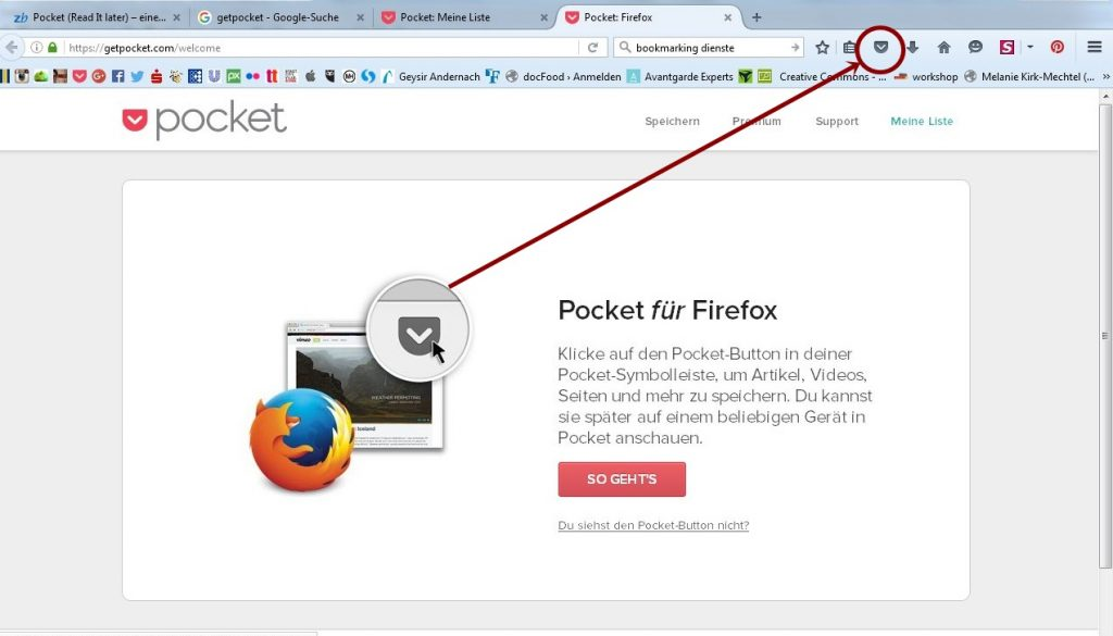 pocket firefox