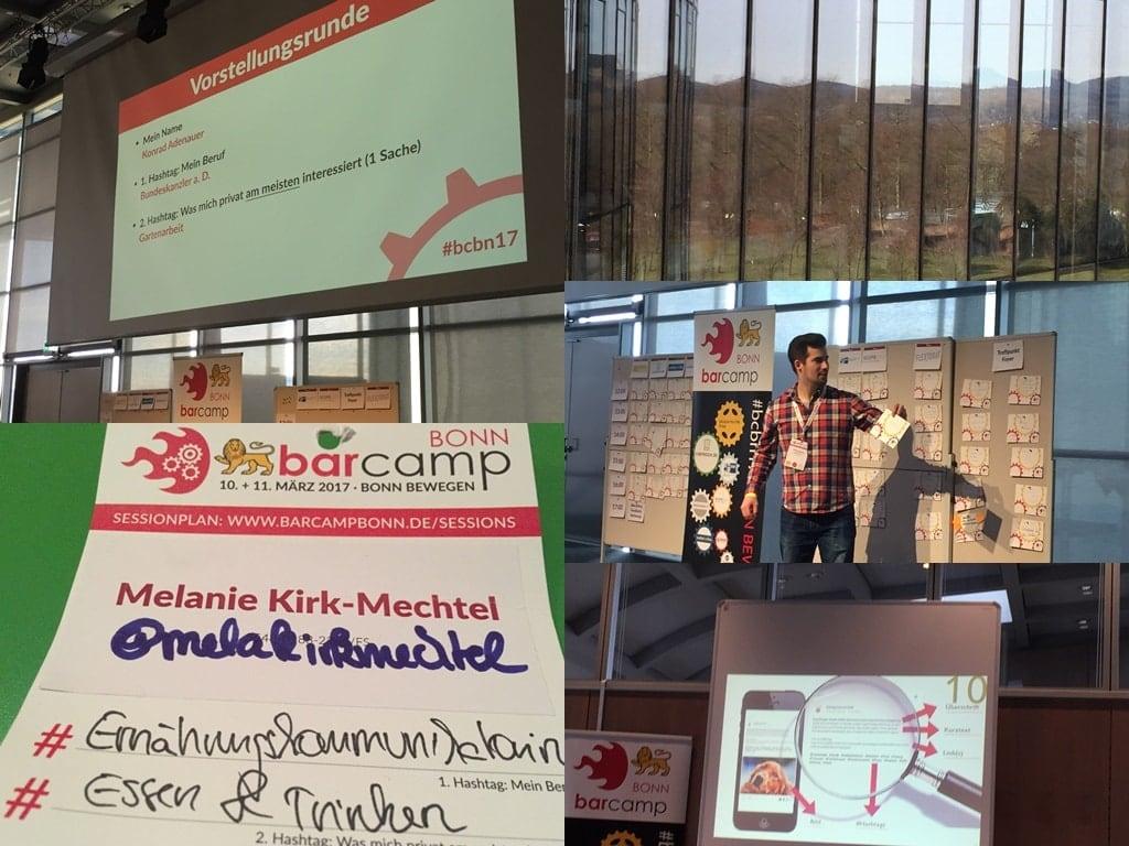 Collage BarCamp Bonn