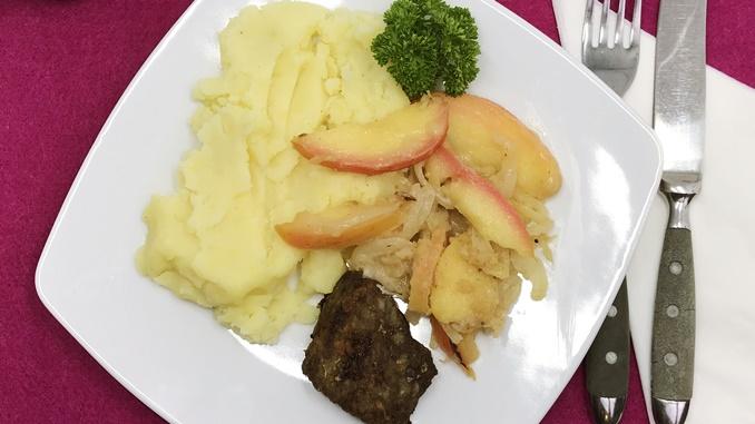 Beitragsbild Leber mit Apfel und Zwiebeln