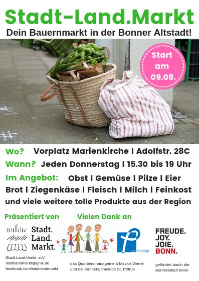 Stadt-Land.Markt_Logos und Schrift
