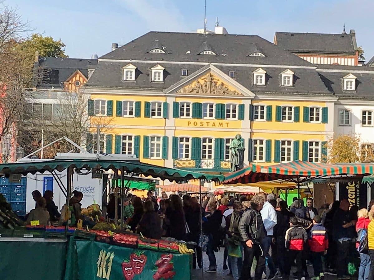 Wochenmarkt Münsterplatz