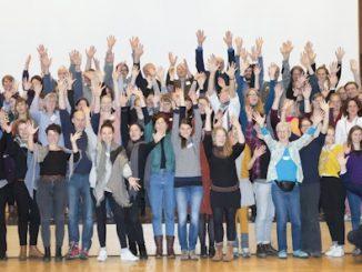 Ernährungsräte Abschiedsfoto Teilnehmer