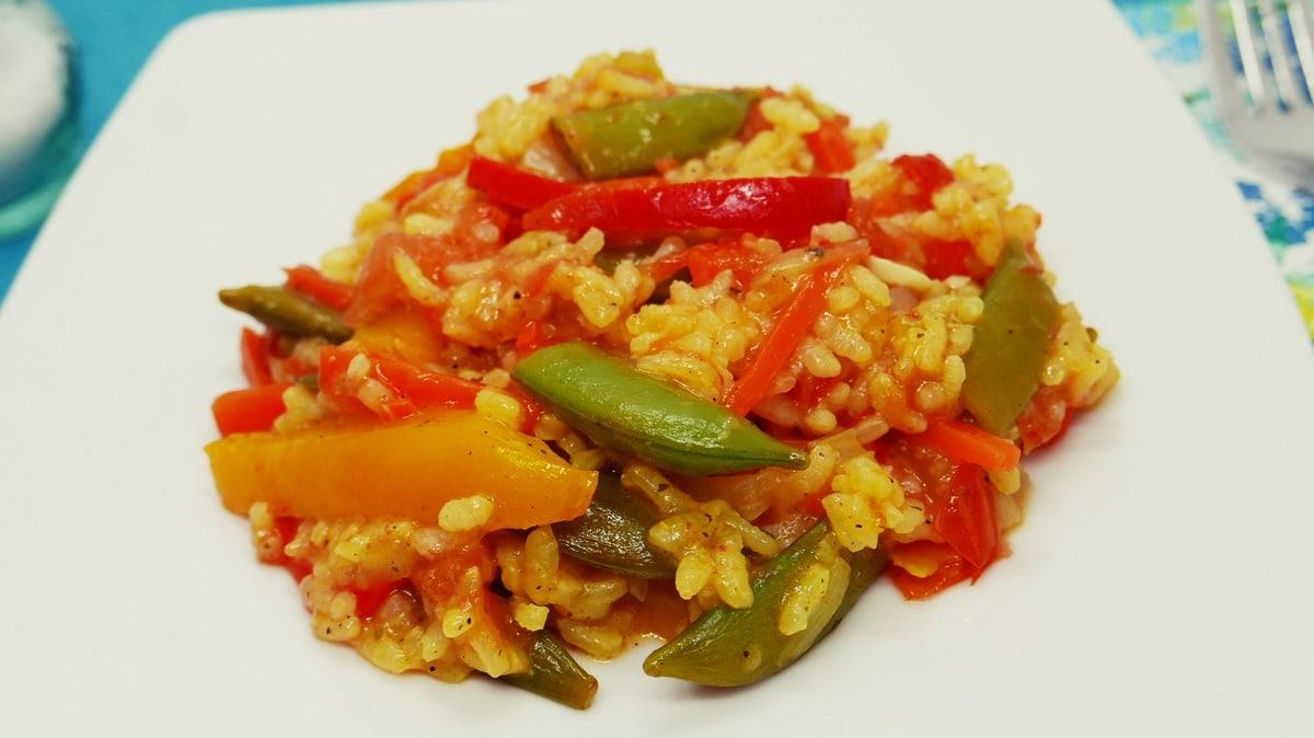 Beitragsbild Gemüse-Paella