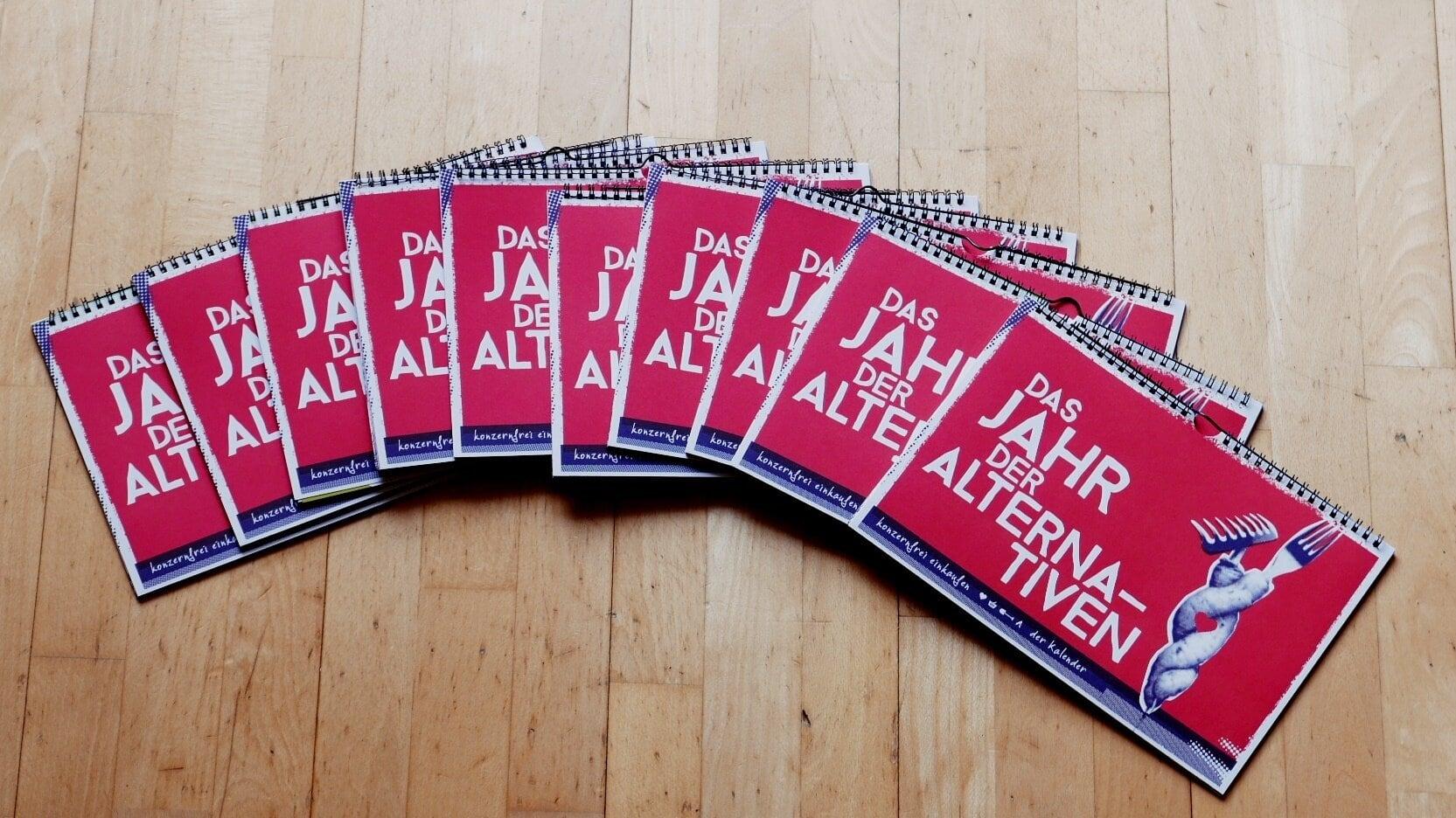 Beitragsbild Kalender der Alternativen