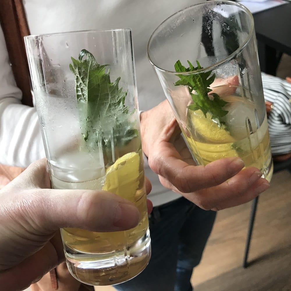 Aperitif Quitten-Drink