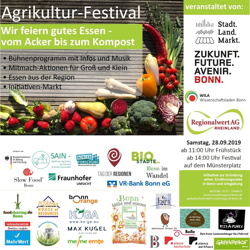 Flyer Agrikultur-Festival