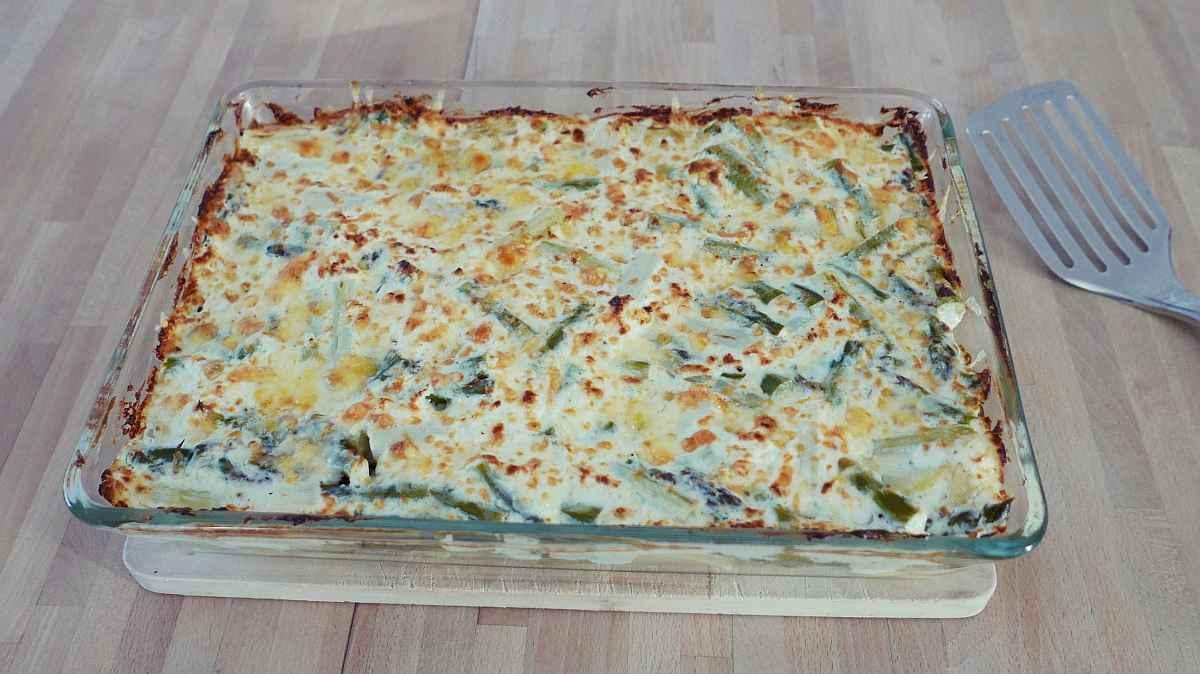 Beitragsbild Kartoffel-Spargel-Auflauf