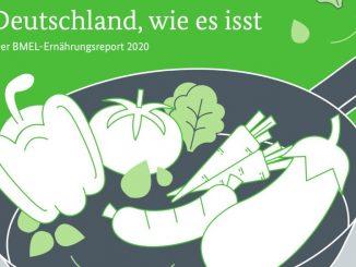 Cover BMEL-Ernährungsreport 2020