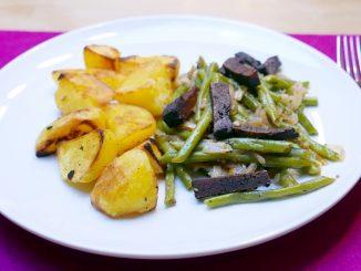 Birnen, Bohnen und Tofu